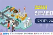 2020년 전국사업체조사 조사실시